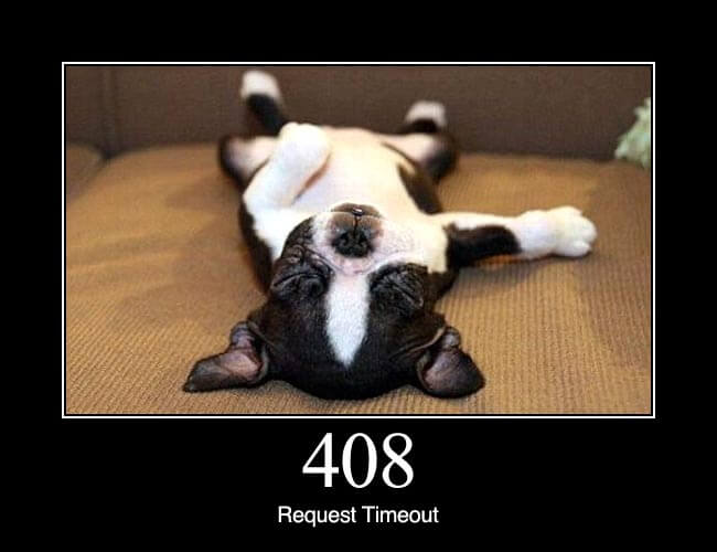 408 Request Timeout