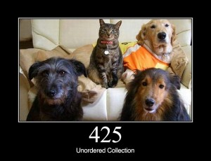 425 Unordered Collection
