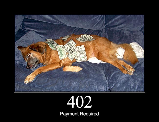 402 Payment Required